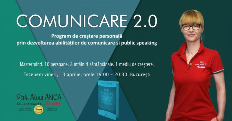 comunicare 2.0 psiholog Alina ANCA cover mastermind