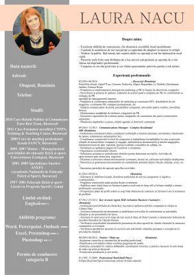 CV grafic